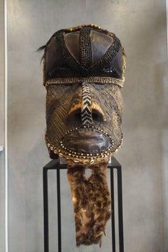 """Helmet-Mask """"Bwoom"""" Kuba, Congo RDC"""