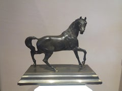 horse. 19th century bronze sculpture