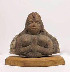 Indian Monkey God sculpture, Punjab