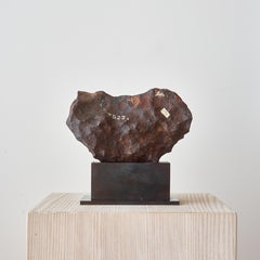 Iron Meteorite From The Barringer Crater