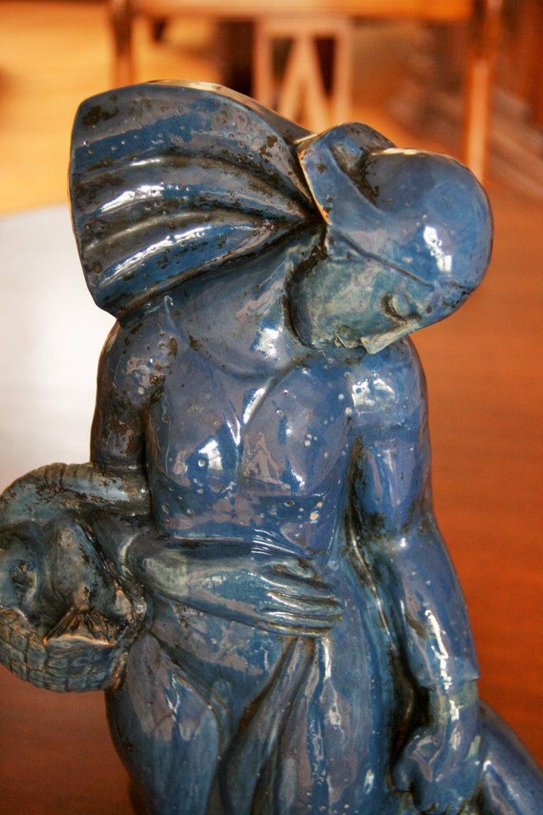 Italian Art Deco Sculpture For Sale 1