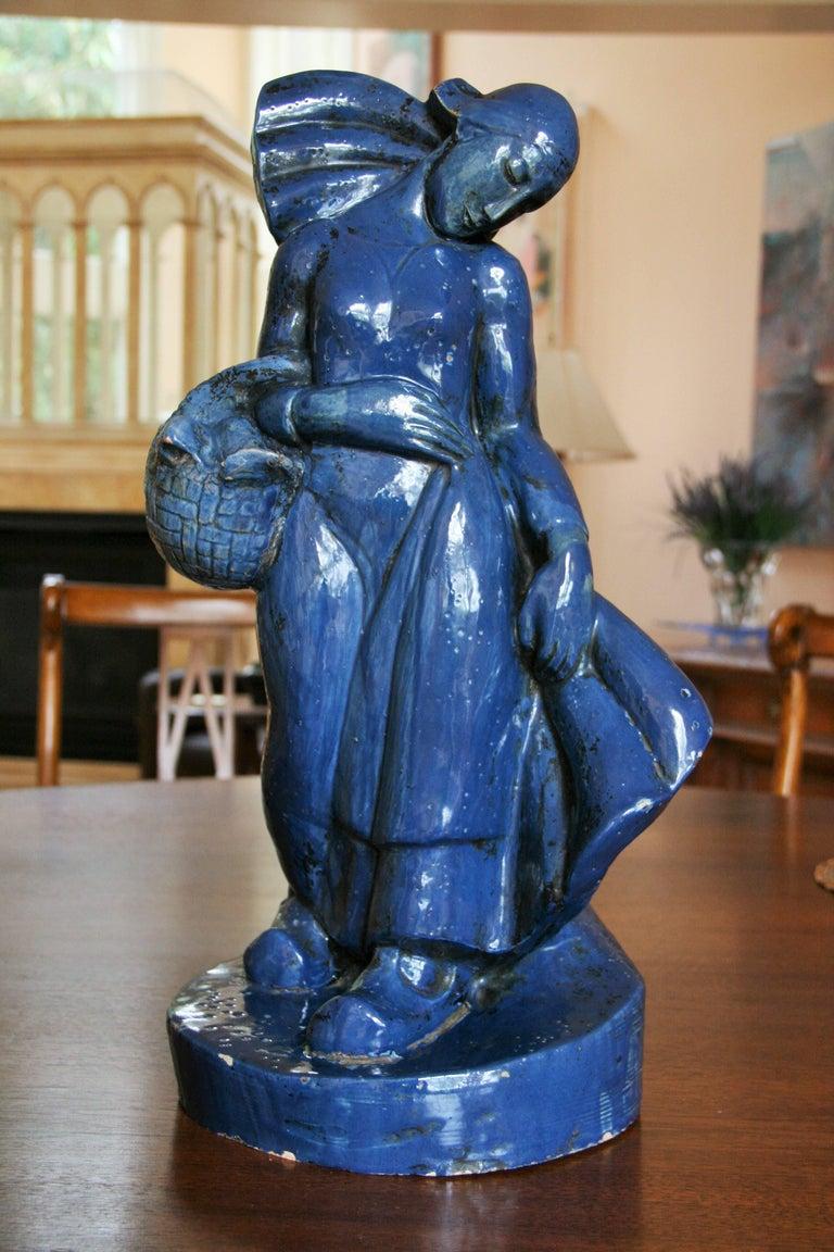 Unknown Figurative Sculpture - Italian Art Deco Sculpture