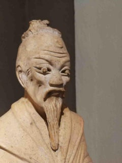 Italian Artist, Chinese philosopher (Mo-Tzu?), 19th, terracotta