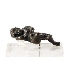 Italian Bronze Little Sculpture, Italy, 16th Century, Venetian Renaissance