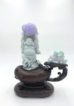 Jadeite Jade Buddha Carving