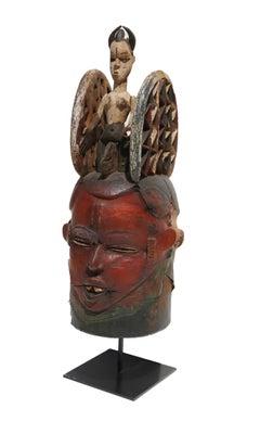 Janus Helmet Mask, Igbo Nigerian