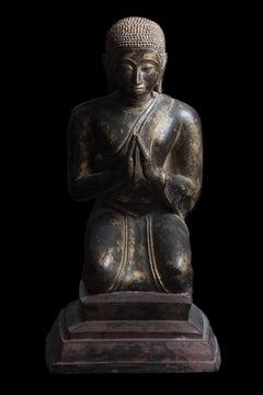 Kneeling Disciples of Buddha 18th/19th century
