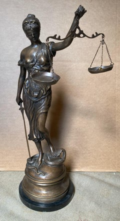 Lady Justice (Large Bronze) -- for your favorite attorney or judge!