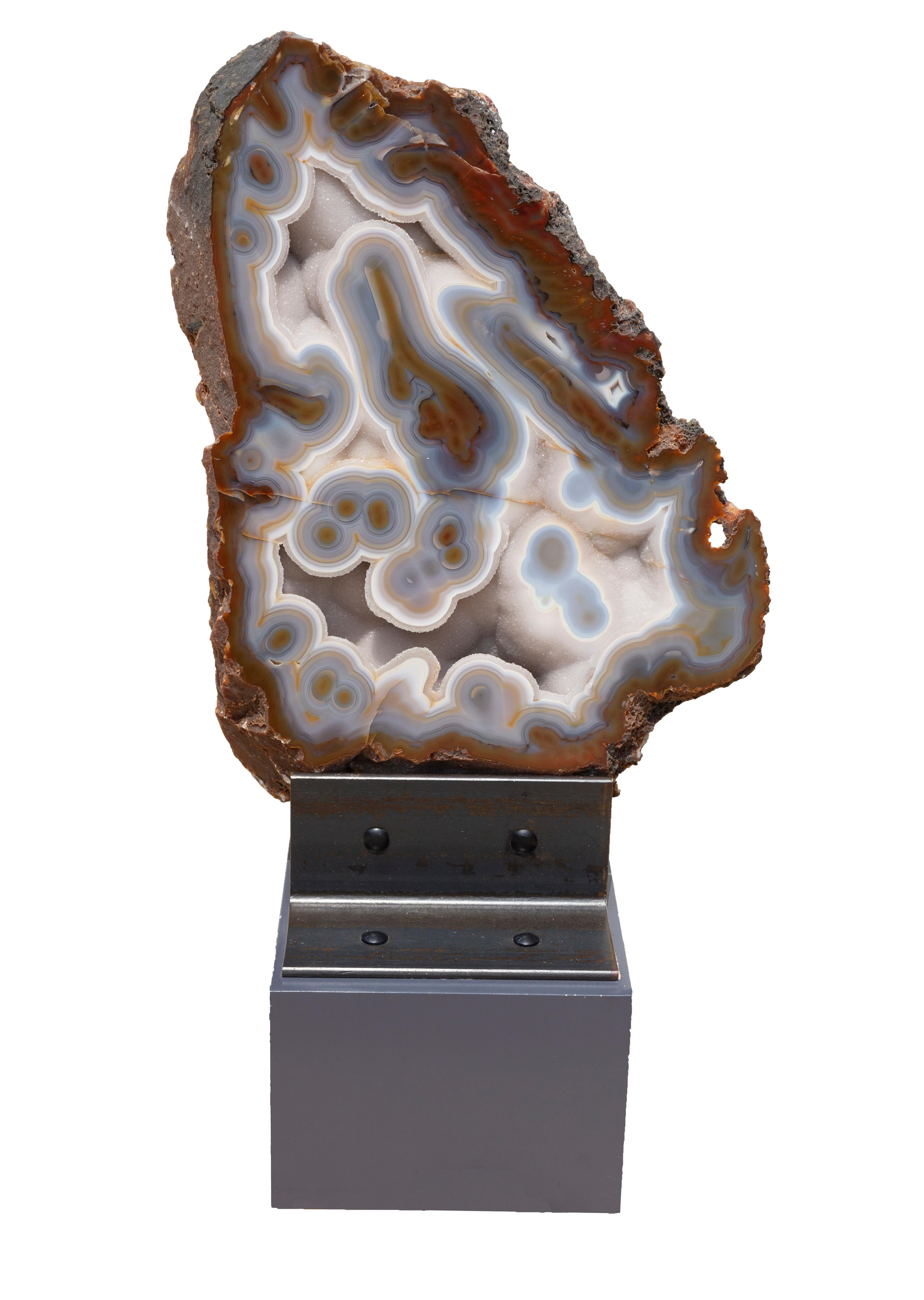 Large Geode with stand