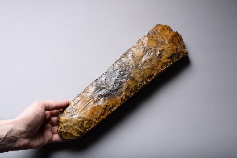 Large Neolithic Flint Axe from Sweden For Sale 1
