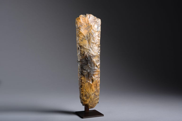 Unknown Abstract Sculpture - Large Neolithic Flint Axe from Sweden