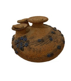 Lidded Ceramic Vase
