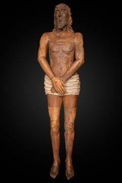 Lying Dead Christ Sculpture