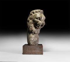 Marble Lion Fountain Head Roman Empire 1st/2nd Century AD