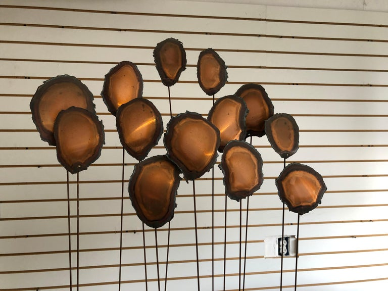 Mid Century Brutalist Sculpture Flowers or Balloons For Sale 1