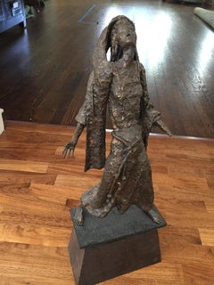 Mid-century Brutalist Sculpture, Henry Gamson, Signed and Dated '67