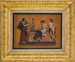 Neapolitan Manufacturer, Toelette of Venus, early 19 century, poplar