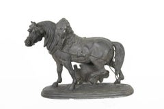 Norman Horse - Latonia and No. 1012 Clock Top