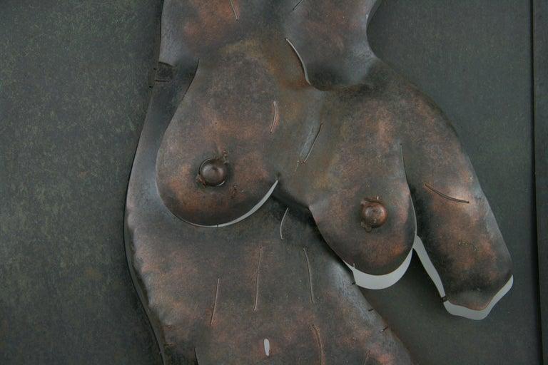 Nude Metal Wall Sculpture 2