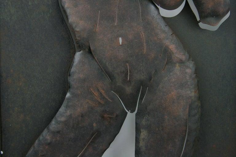 Nude Metal Wall Sculpture 3