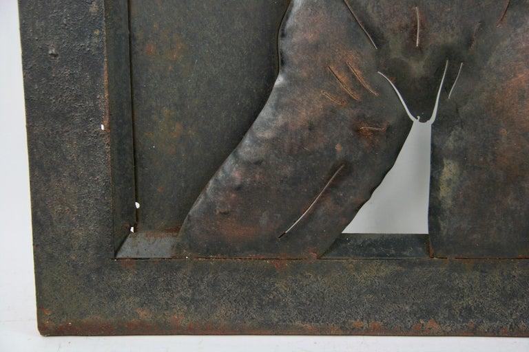 Nude Metal Wall Sculpture 4