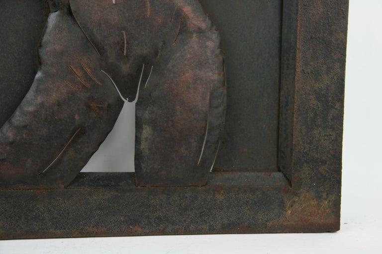 Nude Metal Wall Sculpture 5