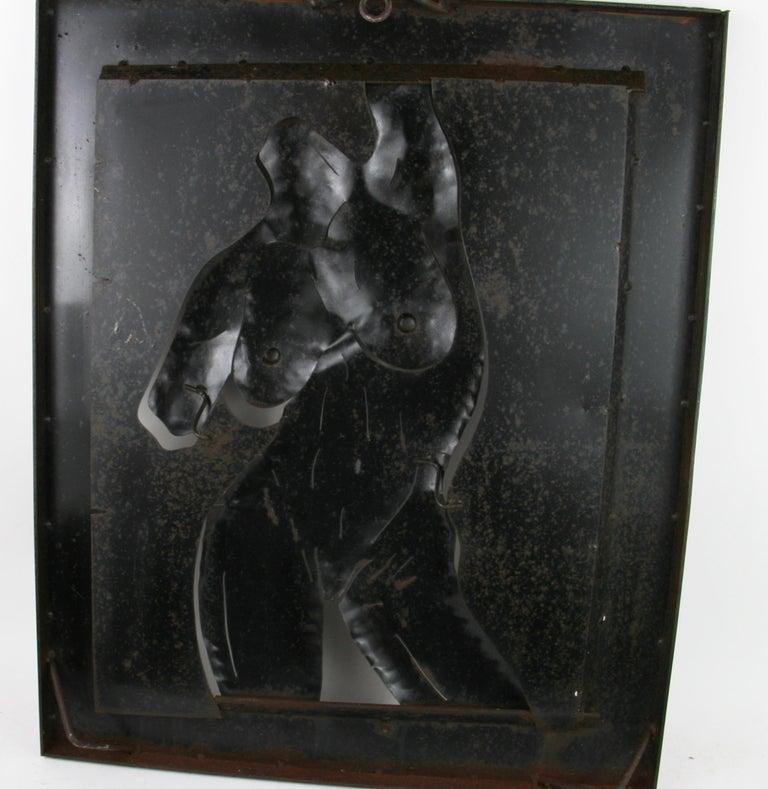 Nude Metal Wall Sculpture 6