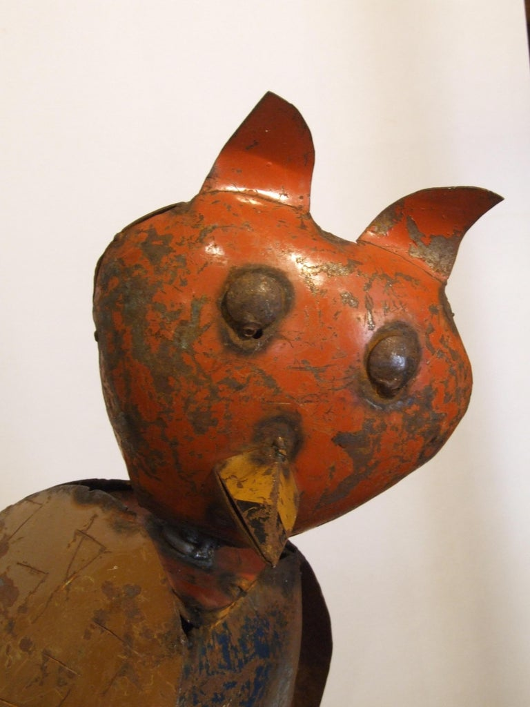 Owl - Sculpture by Unknown