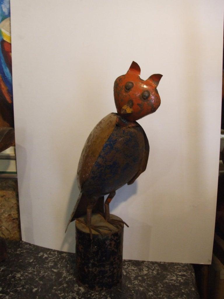 Unknown Figurative Sculpture - Owl