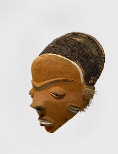 """Pende """"Mbuya"""" Songye Mask,  Democratic Republic of the Congo, Unknown"""