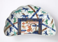 Porcelain Japanese Plates by Fukuemon