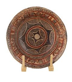 """Pre-Columbian Chinesco Bowl,"" Glazed Ceramic circa 300 B.C."