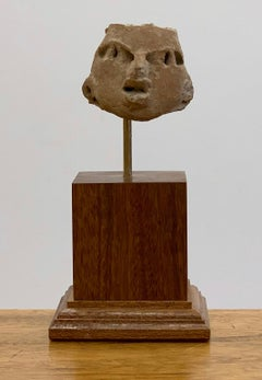 Pre Columbian head - Michoacán Culture - West Mexico.