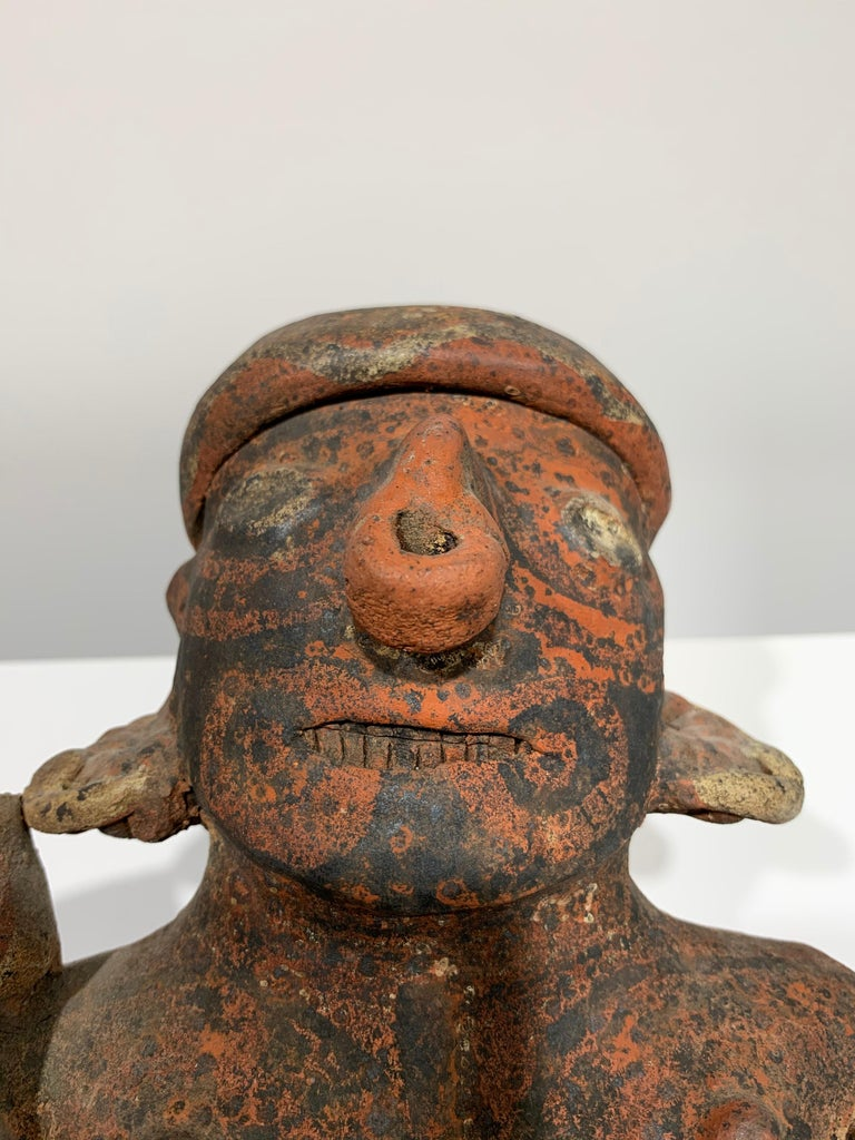 Pre-Columbian, West Mexico, Nayarit woman figural sculpture  For Sale 7