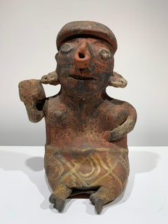 Pre-Columbian, West Mexico, Nayarit woman figural sculpture