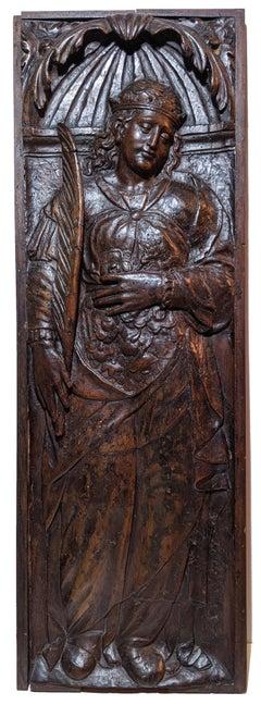 Renaissance Panel - St. Elizabeth Of Hungary
