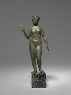 Roman Bronze Figure of Aphrodite, 2nd Century AD