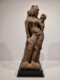 Standing Female Figure, Central India, 10th Century