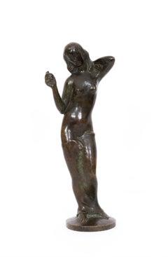 Stehender Akt (Standing Nude) - Bronze, 1920's/1930's, Modern, Female Nude