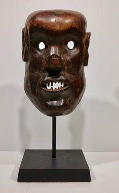 Sukuma tribal African ceremonial mask Tanzania