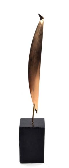 Vogel - Original Bronze Sculpture 1970s