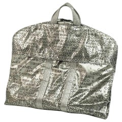 Unlimited  garment case  suit cover  Womens  Other bag  silver x black