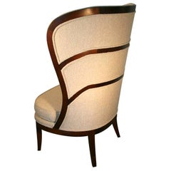 Uno Ahrens Style Wing Chair