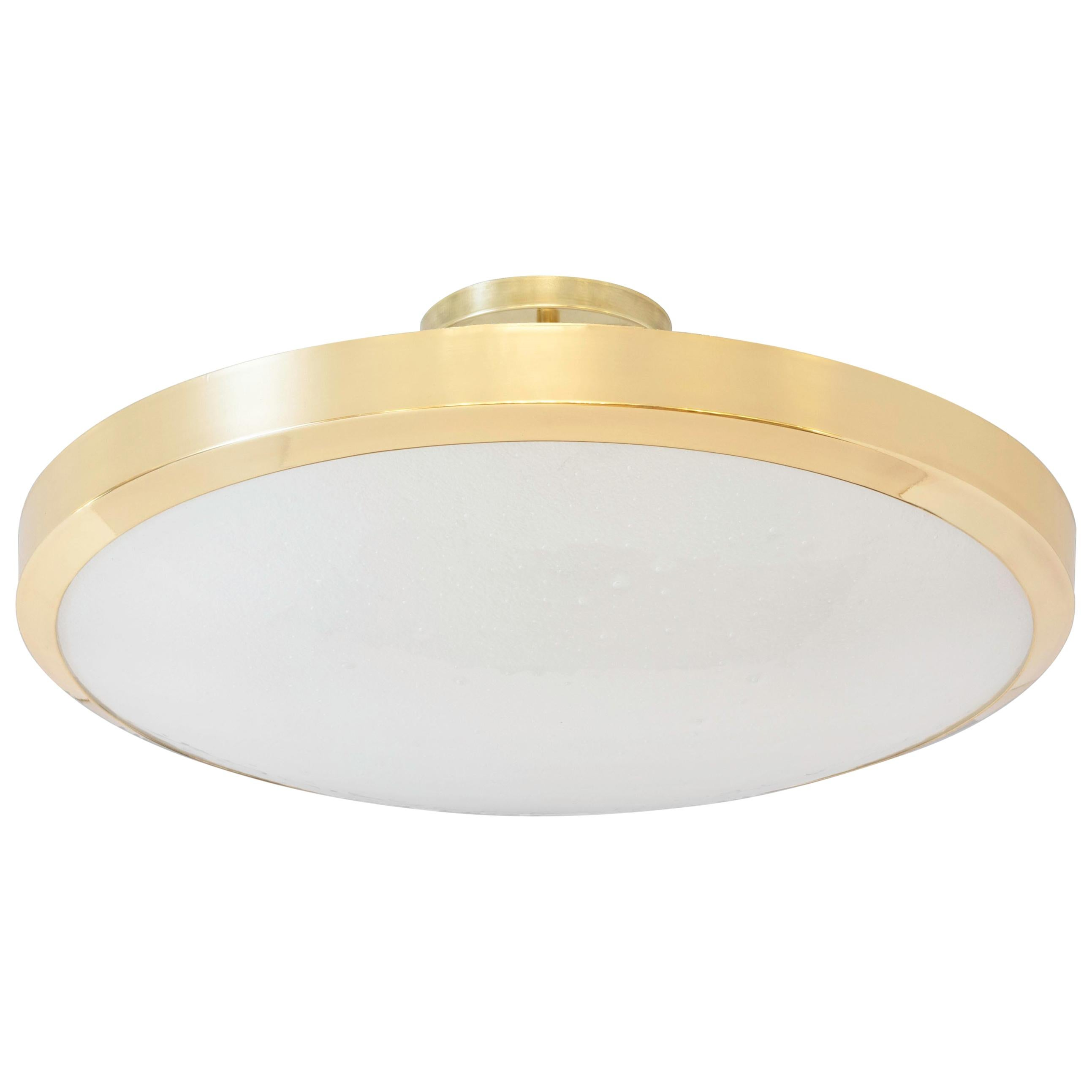 Uno Grande Semi-Flush Mount Ceiling Light by form A
