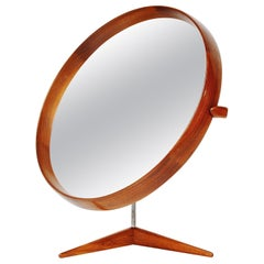 Uno Osten Kristiansson Luxus Table Mirror, Sweden, 1960