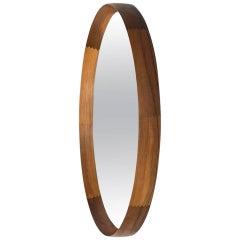 Uno & Östen Kristiansson Mirror in Rosewood by Luxus in Sweden