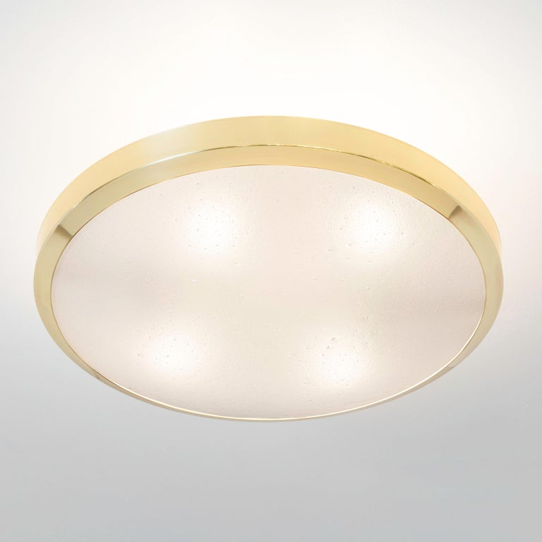 Modern Uno Semi-Flush Mount by form A For Sale