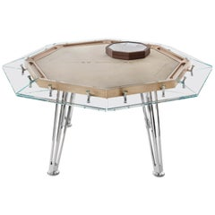 Unootto Wood Edition, 8 Player Poker Table, by Impatia