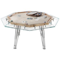 Unootto Wood Edition 8 Player Poker Table by Impatia
