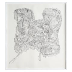 """Untitled #1"" Drawing by Polly Yates"